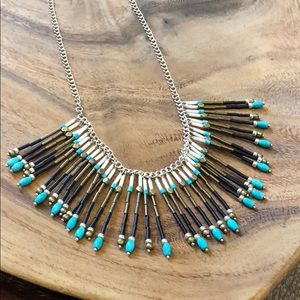 N3343 Silpada Free Spirit Fringe Necklace